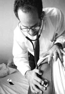 Dr. Safyer in earlier days.
