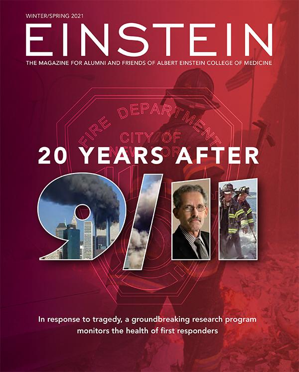 Cover of Einstein Magazine Winter/Spring 2021